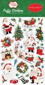 Dear Santa Puffy Stickers - Carta Bella - PRE ORDER