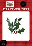 Christmas Greenery Die Set - Farmhouse Christmas - Carta Bella