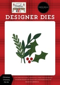 Christmas Greenery Die Set - Farmhouse Christmas - Carta Bella