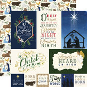 Jounaling Cards Paper - Silent Night - Echo Park