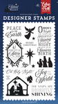 Peace On Earth Stamp Set - Silent Night - Echo Park - PRE ORDER