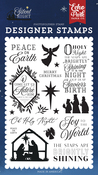 Peace On Earth Stamp Set - Silent Night - Echo Park