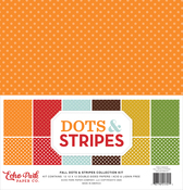 Dots & Stripes - Fall Collection Kit - Echo Park - PRE ORDER