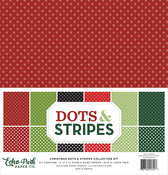 Dots & Stripes - Christmas Collection Kit - Echo Park - PRE ORDER
