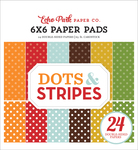 Dots & Stripes - Fall 6X6 Paper Pad - Echo Park