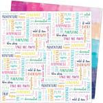 #21 Paper - Go The Scenic Route - American Crafts - PRE ORDER