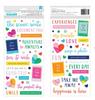 Puffy Phrase Thicker Stickers - Go The Scenic Route