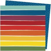 Rainbow Lane Paper - Late Afternoon - Amy Tangerine