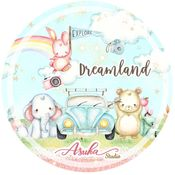 Dreamland Washi Tape 15 mm - Asuka Studio