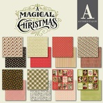 A Magical Christmas 6 x 6 Paper Pad - Authentique