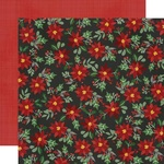 Jolly Holly Days Paper - Jingle All The Way - Simple Stories - PRE ORDER