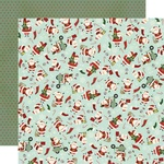 Santa Squad Paper - Jingle All The Way - Simple Stories - PRE ORDER