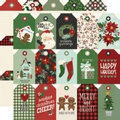 Tags Paper - Jingle All The Way - Simple Stories