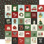 """Elements 2""""X2"""" Paper - Jingle All The Way - Simple Stories - PRE ORDER"""