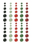 Jingle All The Way Enamel Dots Embellishments - Simple Stories - PRE ORDER