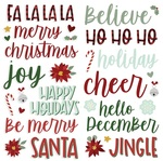 Jingle All The Way Foam Stickers - Simple Stories - PRE ORDER