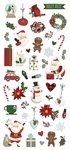 Jingle All The Way Puffy Stickers - Simple Stories - PRE ORDER