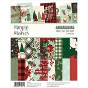 "Jingle All The Way Double-Sided Paper Pad 6""X8"" - Simple Stories - PRE ORDER"