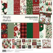 """Jingle All The Way Collection Kit 12""""X12"""" - Simple Stories"""