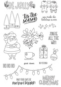 Jingle All The Way Photopolymer Clear Stamps - Simple Stories
