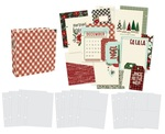 """Jingle All The Way Sn@p! Binder 6""""X8"""" - Simple Stories - PRE ORDER"""