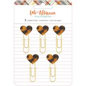 Heart Paper Clips - Late Afternoon - Amy Tangerine - PRE ORDER