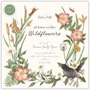 At Home In The Wildflowers 6 x 6 Paper Pad - Craft Consortium - PRE ORDER