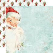 St. Nicholas Paper - Simple Vintage North Pole - Simple Stories