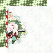 Dear Santa Paper - Simple Vintage North Pole - Simple Stories