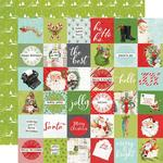 "Elements 2""X2"" Paper - Simple Vintage North Pole - Simple Stories - PRE ORDER"