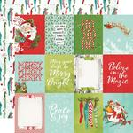 "Elements 3""X4"" Paper - Simple Vintage North Pole - Simple Stories - PRE ORDER"