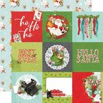 "Elements 4""X4"" Paper - Simple Vintage North Pole - Simple Stories - PRE ORDER"