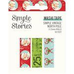 Simple Vintage North Pole Washi Tape - Simple Stories - PRE ORDER