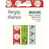 Simple Vintage North Pole Washi Tape - Simple Stories