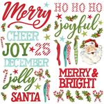 Simple Vintage North Pole Foam Stickers - Simple Stories - PRE ORDER