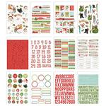 Simple Vintage North Pole Sticker Book - Simple Stories - PRE ORDER