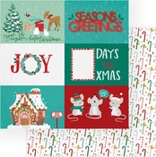 Seasons Greetings Paper - Not A Creature Was Stirring - Photoplay
