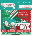 Not A Creature Was Stirring Ephemera - Photoplay - PRE ORDER