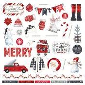 Christmas Cheer Element Sticker - Photoplay - PRE ORDER