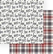 HO HO HO Paper - Christmas Cheer - Photoplay