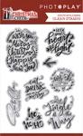 Christmas Cheer Phrase Stamp - Photoplay