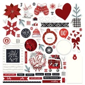 Christmas Cheer Card Kit Sticker - Photoplay