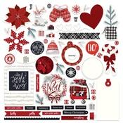 Christmas Cheer Card Kit Sticker - Photoplay - PRE ORDER