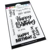 Happy Birthday Many Ways Stamp Set - Catherine Pooler