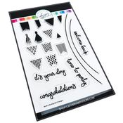 Build-a-Bunting Stamp Set - Catherine Pooler