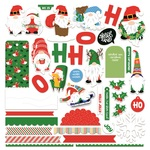 Gnome For Christmas Card Kit Stickers - Photoplay - PRE ORDER