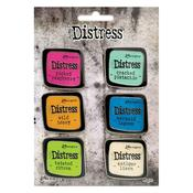 Tim Holtz Distress Enamel Collector Pin Set 1 - Tim Holtz