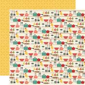 Lick The Bowl Paper - Apron Strings - Simple Stories - PRE ORDER