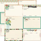 Recipe Cards Paper - Apron Strings - Simple Stories - PRE ORDER