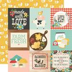 "4""X 4"" Elements Paper - Apron Strings - Simple Stories"